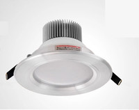 Wholesale 3pieces W LM Dimmable LED Downlight Fixture Recessed Light Warm Cool White With Power Driver Ceiling Light CE ROHS Warranty Years