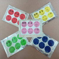 Wholesale 600 Smiling Face Mosquito Repellent Stickers Mosquito Repellent Patch Cartoon Anti Mosquito Repellent Sticker
