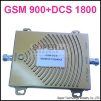 Wholesale 65dbi dual band booster GSM Mhz Booster DCS Mhz Repeater dual band repeater gsm DCS booster gsm DCS repeater DCS BOOSTER