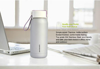 FDA stainless steel double wall bottle - 248ml Simida Double Wall Stainless Steel Thermos Portable Sweet Candy Color Water Drinking Bottle for Outdoor Travel