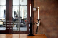 Wholesale European iron candlestick ornaments include post classical Home Furnishing candles Taiwan Restaurant wedding photography prop candlelight di