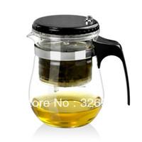 Wholesale Promotion Genuine Elegant cup glass tea set black tea herbal tea kung fu teapot ml Secret Gift
