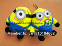 Wholesale Despicable Me Plush Keychina cm Dave Stewart Phone Strap Minions Doll Toy