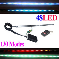 Wholesale Super Bright Modes of Scanning Colors Knight Rider Lights Lighting Bar SMD LED V with Remote Control