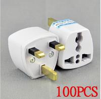 adapter europe - High quality EU Europe US to UK travel plug convertor Universal Travel Power Adapter Plug AC for UK Plug Standard DHL