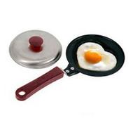 Wholesale Love heart omelette pan egg frying pan small frying pan omelette device pot egg moulds