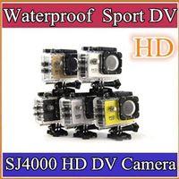 Wholesale DHL SJ4000 outdoor sports camera multi functional waterproof sports dv p mini helmet camera