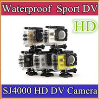 Wholesale DHL SJ4000 outdoor sports camera multi functional waterproof sports dv p mini helmet camera