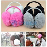 Wholesale Holiday Sale New Colorful Earmuffs Earwarmers Ear Muffs Earlap Warm Headband Winter