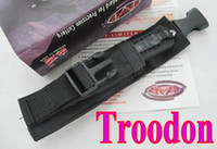 Folding Blade   HOt MICROTECH troodon A162 Double Action OTF Double blade Partial serration Tactical knife survival knife knives with box