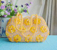 Wholesale The new handmade beaded jewelry craft pearl lady handbag
