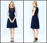 Cheap Reference Images short homecoming dress Best Chiffon Bateau/Jewel new comings fashion