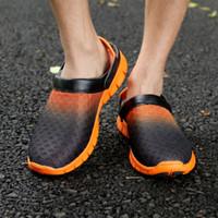 Wholesale Baotou sandals men sandals men slippers for men and women nest hole summer influx of Korean men mesh sandals hole shoes