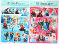 Wholesale Small sheet Frozen girl s love DIY Waterproof STICKERS TOY Random Shipping M02