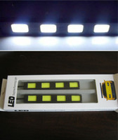 Cheap 4 LED shipping led Best White 12V car led
