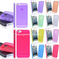 For Apple iPhone apple iphone 5g price - Best Price mm Super Ultra Thin Slim Matte Frosted Transparent Clear Soft PP Cover Case Skin for iPhone G S c s Iphone S Plus M