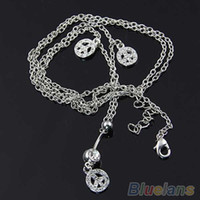 belly chains for pierced navels - OP PEACE DANGLING NAVEL RING BAR WITH BELLY CHAIN SEXY BODY PIERCING JEWELRY for Women