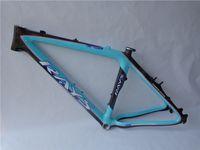 Wholesale 100 carbon frame mtb frame er quot V brake and disc brake mountain bike frame bike accessaries