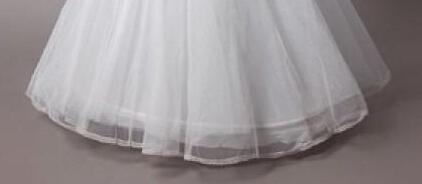 2014 en stock pas cher blanc a ligne de jupons pour les robes de mariage - Jupon Mariage 1 Cerceau Pas Cher