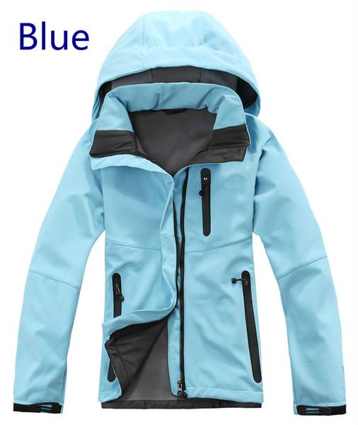 2015 nuovo di alta qualità delle donne di inverno in pile Giacche Fashion Marca SoftShell Apex Bionic Cappotti antivento impermeabile traspirante Uomo Marca Cappotti