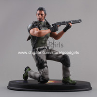 Finished Goods big cool box - Cool quot Resident Evil Chris Redfield Boxed Solid PVC Action Figure Collectible Model Toy quot CM MVFG187