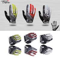 M motor cycle - Men s Sports Full Finger Cycling Gloves Racing Riding Mountain Road Bike Bicycle Motor GEL Silicone Gloves White Green Red M LXL H11385