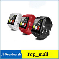 Wholesale U8 Smart Watch Colors Bluetooth Phone MTK6260 Mate Smartwatch Watch Wrist for For iPhone S iPhone note S6 Android Smartphone R