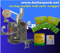 Wholesale Tea bag pack machine for tea bags with outer wrapper tea packaging equipment herbal tea packaging diet tea bag packaging machine
