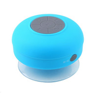 Wholesale Waterproof Wireless Bluetooth Speaker Dustproof Mini Speakers Handfree Sucker Colorful BTS HOT Good Quality Free DHL ZKT