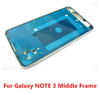For Samsung att galaxy note - A Housing faceplate Bezel middle frame with adhesive glue FOR Samsung Galaxy Note N9000 ATT G