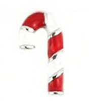 Wholesale 20pcs candy cane Charm Floating Charms For Glass Lockets