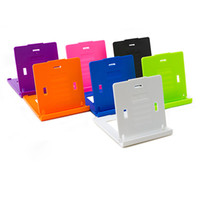 universal universal Mix Wholesale - Universal Portable Fold-up Desk Mount Bracket Stand Holder For Apple iPad 2 3 4 5 air mini iphone 4 4S 5S Tablet PC Samsung LG H