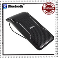 Wholesale New Wireless Bluetooth Car Kit Hands free Speakerphone Speaker Phone Hands Free Car Bluetooth Hands free Kit Car Charger