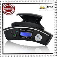 car kit car bluetooth modulator - Steering Wheel Car Wireless Bluetooth Car Kit Hands free Kit MP3 Player USB FM Transmitter Radio Modulator with Car Charger Retail