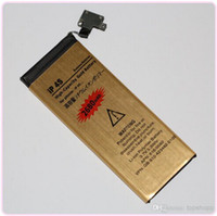 For Apple iPhone apple battery capacity - High Quality High Capacity Battery mah Gold Replacement Li ion Battery for iPhone S G G S C GS Battery with Flex Cable DHL