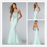 2014 Sexy Sweetheart Prom Dresses Tulle Ruffle Floor- Length ...