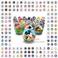 Wholesale DHL or EMS Peppa Pig Frozen My Little Pony Violetta Super Mario Minecraft Tin Pin Button Badges MM Brooch Badges