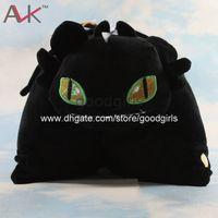 Wholesale Anime Cartoon How to Train Your Dragon Toothless Night Fury Pillow Plush Cushion Soft Stuffed Animal Doll Toy