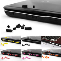 Wholesale 10pcs New Silicone Anti Dust Ports Plug Stopper Cover Set For Laptop Notebook Cx81