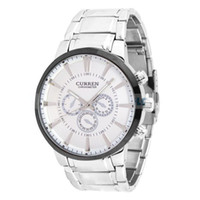 Fashion Men's Not Specified Stylish Round Dial Titanium Metal Band Quartz Wrist Watch (Slivery)