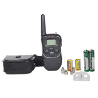 Wholesale m remote dog training collar dog shock collar powered by battery with LED display