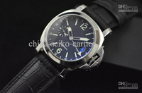 White whites gmt - New Watch Pam Mechanical GMT Automatic Sapphire Wristwatch Stainless Steel Men s Watches