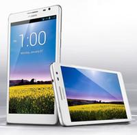 Original <b>Huawei</b> mate MT1 U06 6,1 pulgadas Móvil 2G RAM 8G ROM Quad Core 1.5GHZ teléfono Android 4.1 Tablet Multi Idiomas