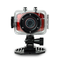Wholesale arrival HD Extreme Sports Action Camera Waterproof Sports Video Camera Camcorder DV X digital zoom inch