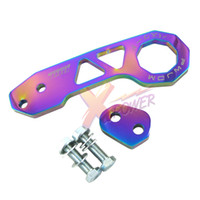 Wholesale Xpower NEO CHROME UNIVERSAL BILLET CNC ALUMINUM RACING REAR TOW HOOK JDM ANODIZED
