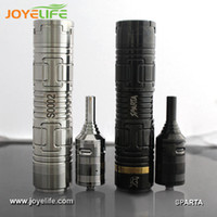 Cheap 2014 newest mechanical 26650 mod stainless steel sparta atomizer