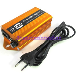 Wholesale 24KW Power Electronic Energy Saver Equipment Saving Box Up to Money With EU AC Power Adapter Plug For Home Office in Retail Package