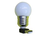 Indoor Lighting Book Lights USB Bulb LED light 3 LED, white c...