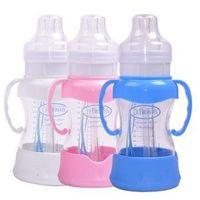 Wholesale BX00402 PP baby bottles Powdered Milk standard diameter shank Straw baby bottles
