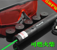 Green No No 20000mw green laser pointers 532nm burn match+sunglasses+key+charger+box+5 caps star pen FREE SHIPPING